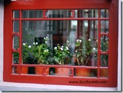 北京胡同四合院青年旅馆-窗
