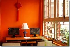 北京胡同四合院旅舍-上网电脑