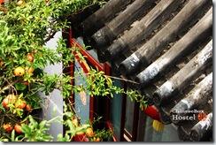 北京胡同四合院旅馆-屋檐