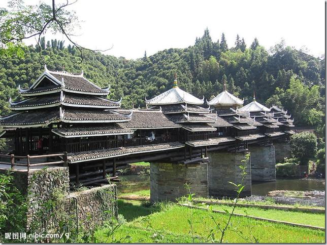 广西三江县程阳风雨桥