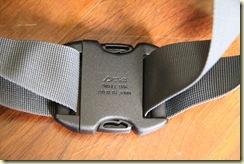 Deuter 36527 Kid Comfort III 腰带卡扣背面